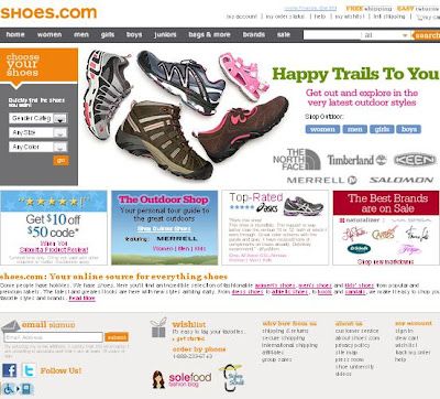 Shoes.com Coupons and Deals